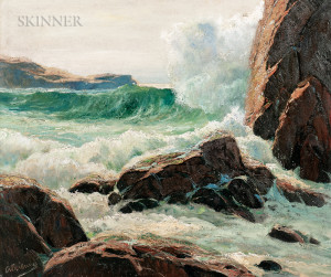 Anthony Thieme (American, 1888-1954)      Rolling Surf