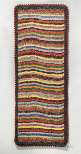 Shaker Hooked and Woven Rug